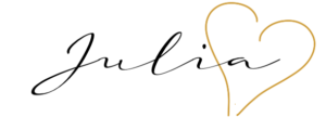 Julia, Unterschrift