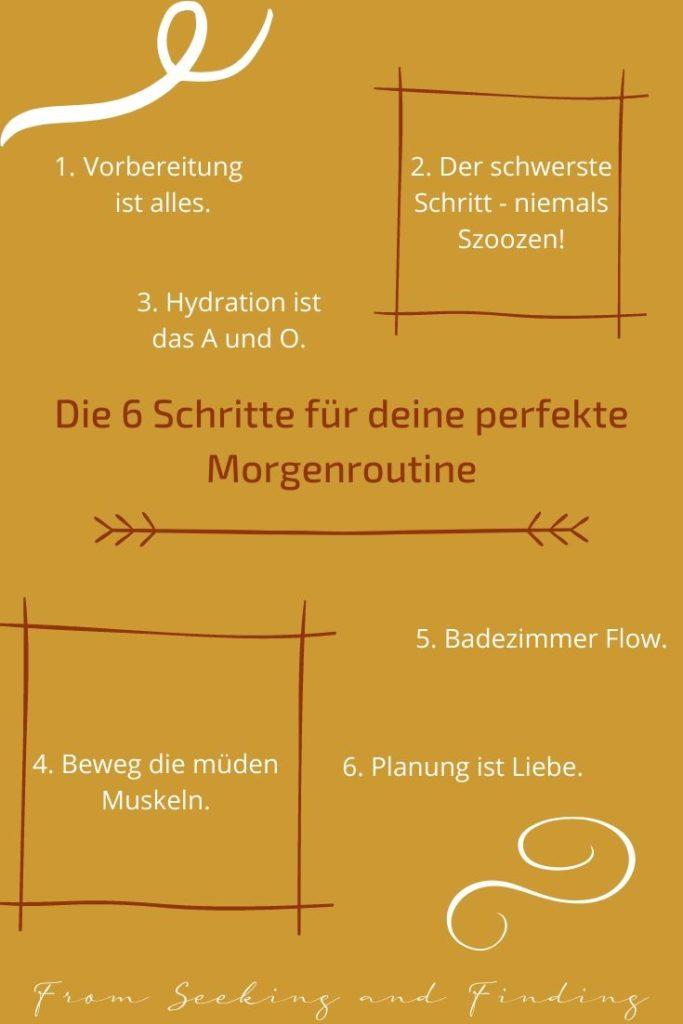 Deine Morgenroutine-6 einfache Schritte für deinen perfekten Morgen