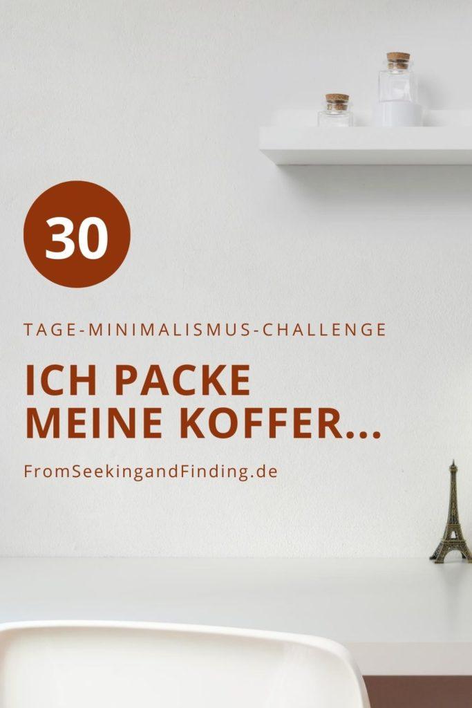 30-Tage-Minimalismus-Challenge